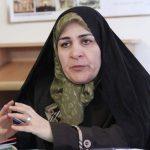 پیام تسلیت فخرالسادات محتشمی پور به زهرا رهنورد