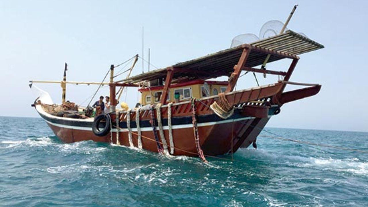 فیلم دلخراش لحظه غرق شدن شناور ایرانی در خلیج فارس+ اسامی مفقودین