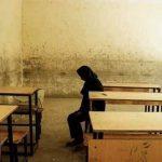 عکس/ دختری که اشک همه را در آورد