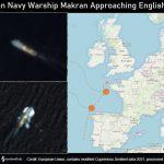 موسسه خصوصی نیروی دریایی ایالاتمتحده مدعی شد: دو ناو جنگی ایرانی در نزدیکی کانال مانش انگلیس