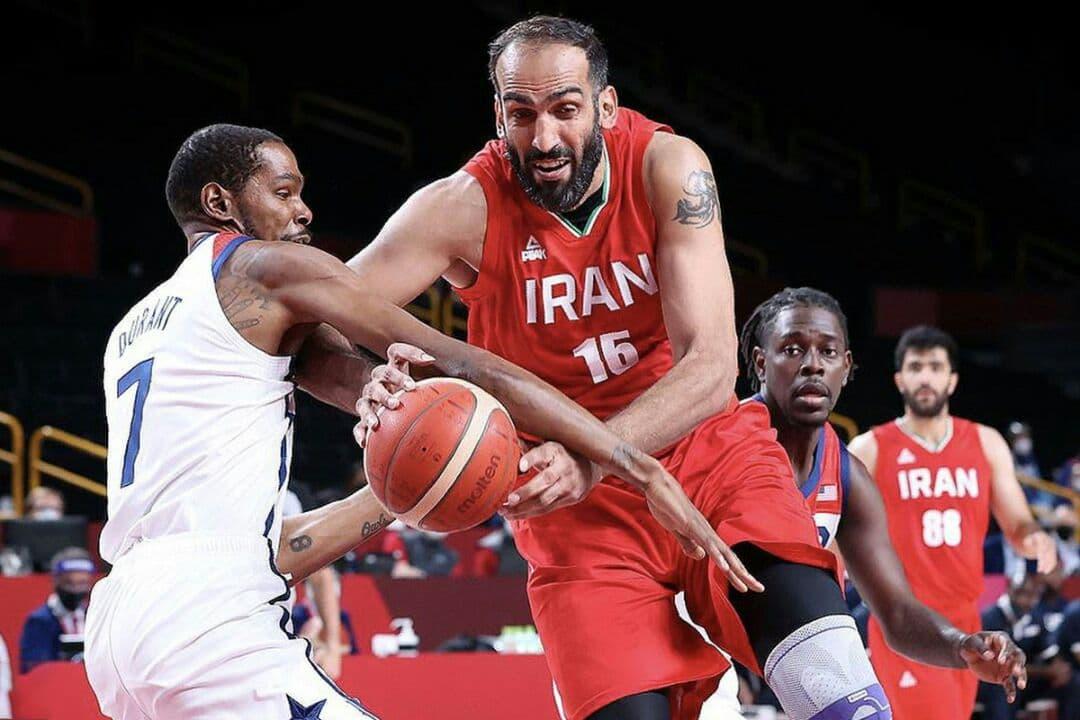 دیپلماسی بسکتبال؛ ایالات متحده و ایران در توکیو روبروی همایستادند