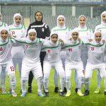 مجلس درگیر لباس اعضای تیم فوتبال بانوان
